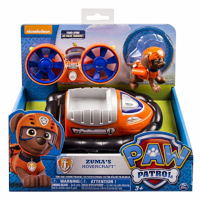 JUGUETES - Paw Patrol | La Patrulla Canina  El aerodeslizador de Zuma | Vehículo + Figura  Zuma's Hovercraft  Toys | Producto Oficial Serie Televisión Nickelodeon | A partir de 3 años