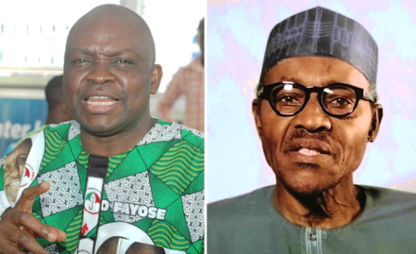 Fayose to Buhari - 'Stop making selective corruption fight'