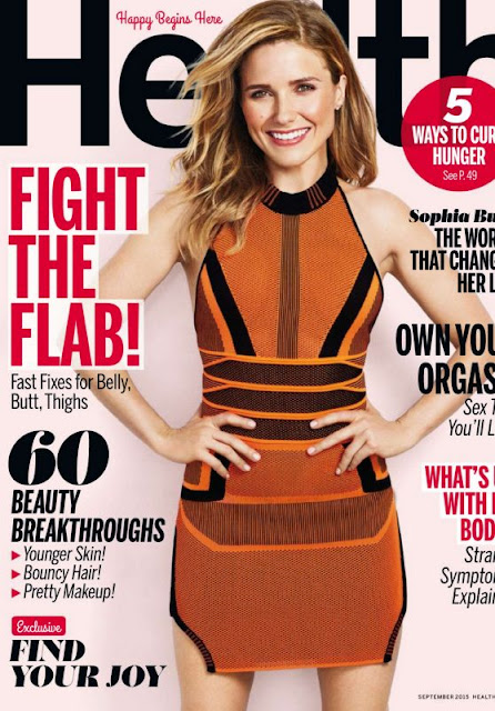 Actress @ Sophia Bush - Health US, September 2015