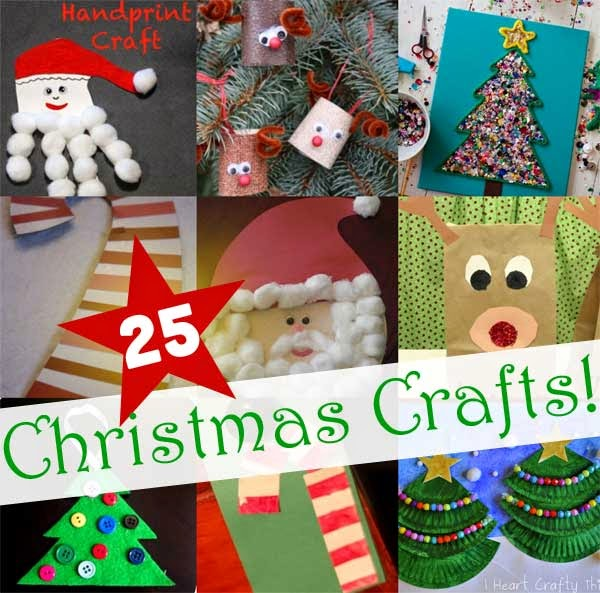 25 easy christmas crafts for kids diy craft projects for Holiday project