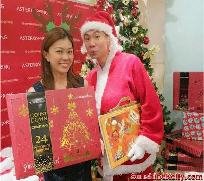 AsterSpring Beauty Advent Calender Gift Box, christmas present, christmas, Advent Calender Gift Box, santa