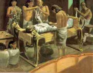 5 Besar tahapan mumifikasi Mesir Kuno