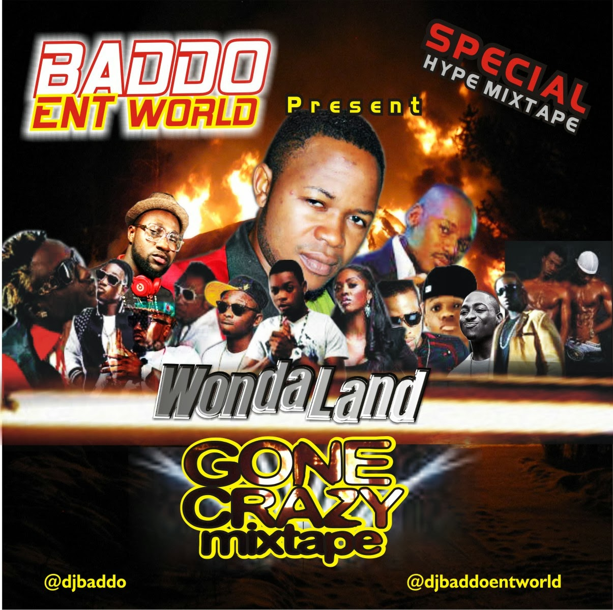 MIXTAPE : DJ BADDO - GONE CRAZY