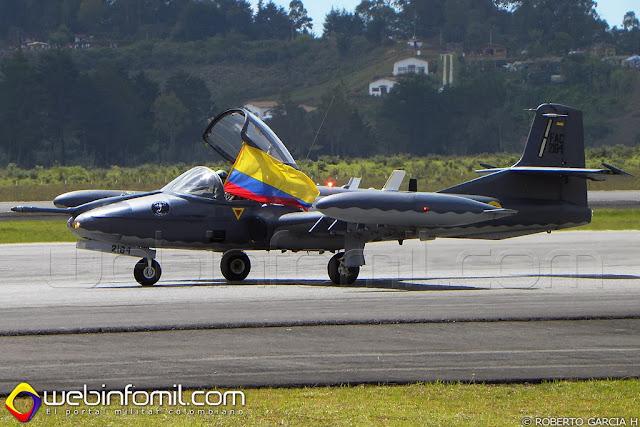 A-37B Dragonfly Fuerza Aerea Colombiana Cruzex