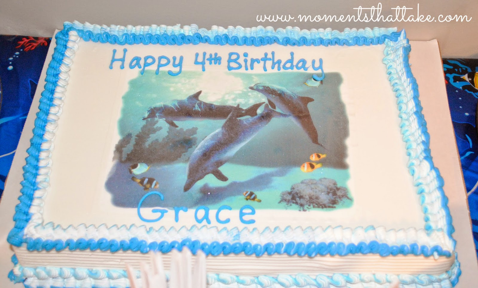 Dairy Queen Dolphin Cake