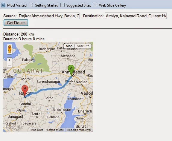 Shree m n virani science college dept of computer science calculate distance between two locations using google mapscalculate distance between two locations using google maps api using php mysql asp net sql server gumiabroncs Image collections