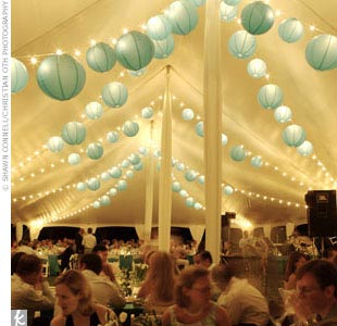 Paper Lantern String Lights Wedding : Bristol Wedding News: Pretty Paper Lanterns
