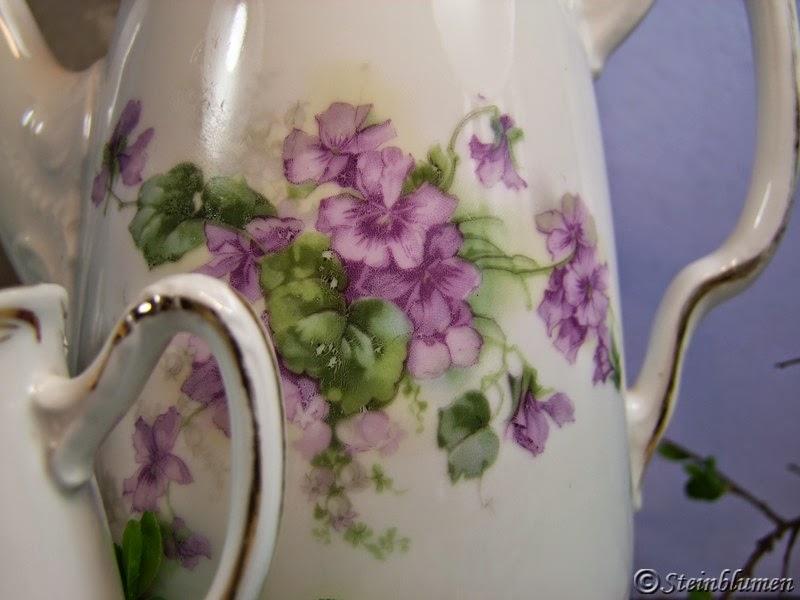 Veilchen Porzellan