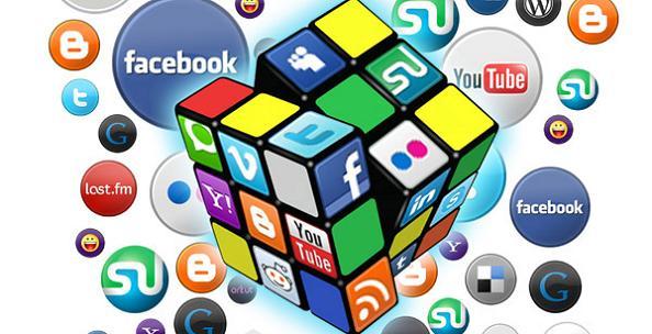 botões rede social blogger blogspot