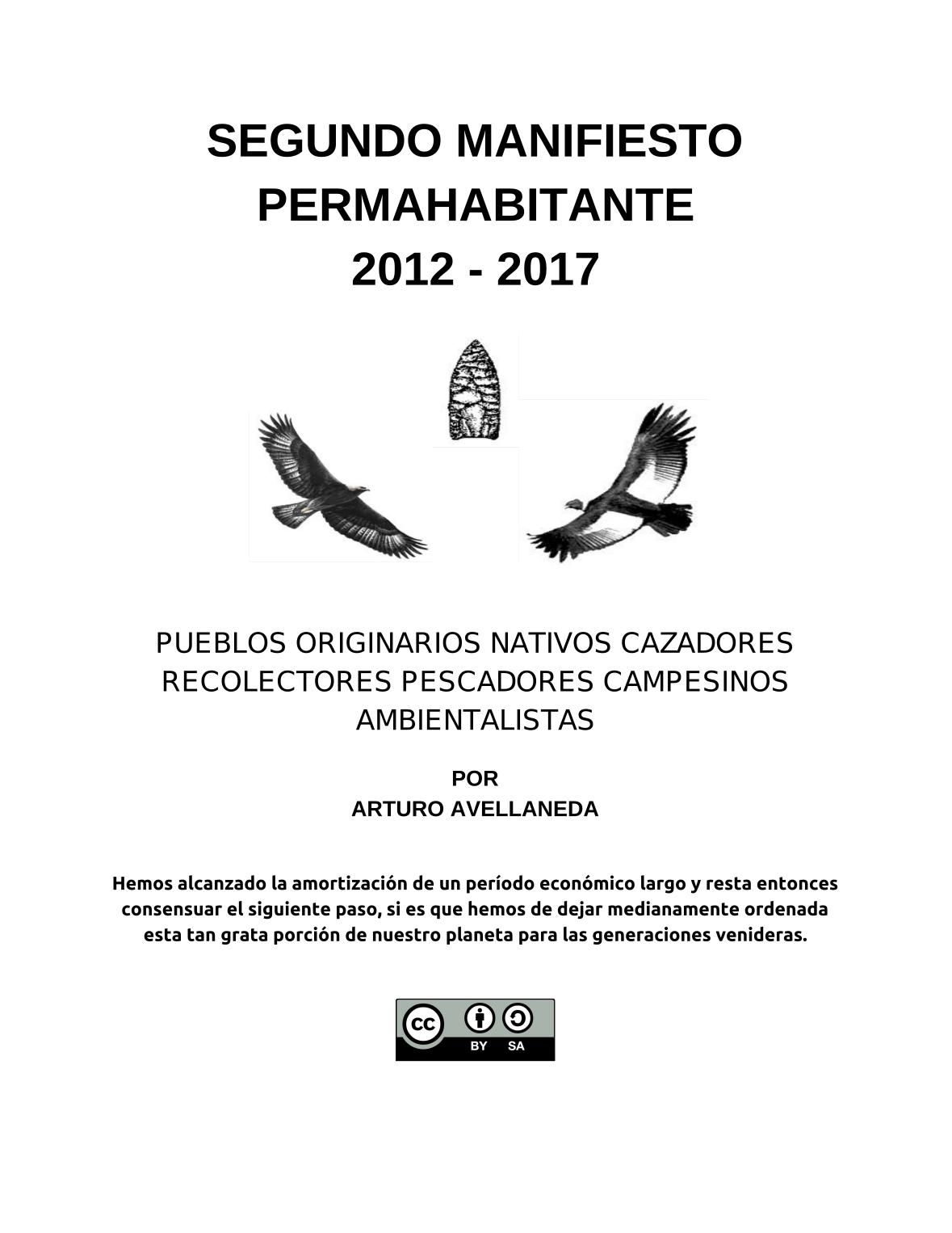 SEGUNDO MANIFIESTO PERMAHABITANTE