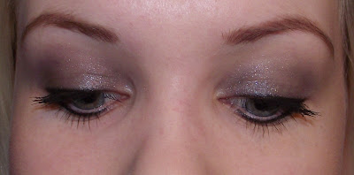 Dior 1 Couleur Ultra-Smooth High Impact Eyeshadow Review - 056 Argentic Swatch