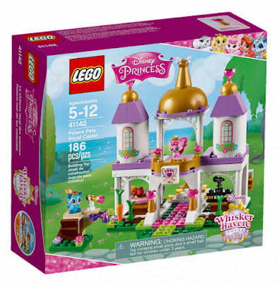 TOYS : JUGUETES - LEGO   Disney Princess : Princesas Disney  41142 El Palacio Real de las Mascotas  Palace Pets Royal Castle  Whisker Haven Tales   Producto Oficial 2016 | Piezas: 186 | Edad: 5-12 años  Comprar en Amazon España & buy Amazon USA