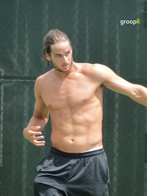 Feliciano Lopez Shirtless at Cincinnati Open 2010