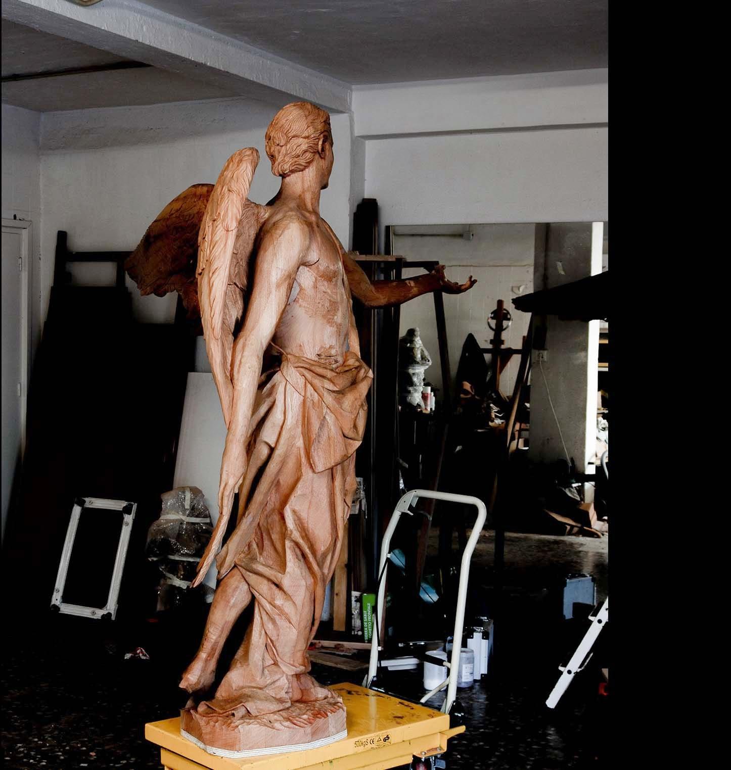 Ángel Semana Santa Tobarra escultura 19