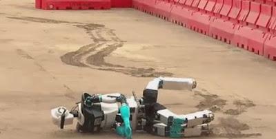Στον ρομποτικό διαγωνισμό DARPA δεν τα καταφέρνουν όλοι οι διαγωνιζόμενοι…