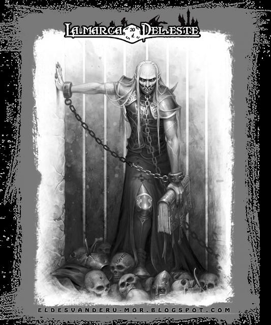 Ilustración vampiro Lord Gruvagh - ªRU-MOR _ La Marca del Este