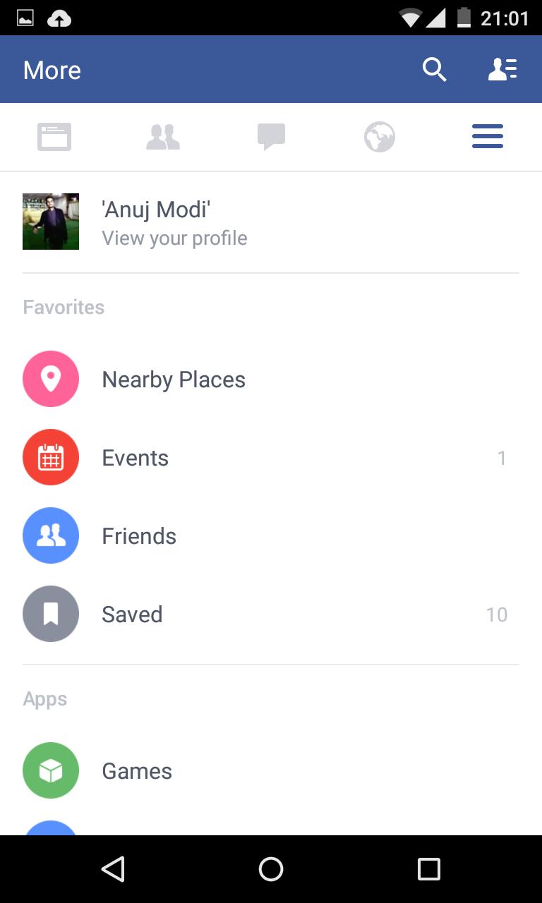 Techno Accelerator: Facebook Material Design Apk [Android]