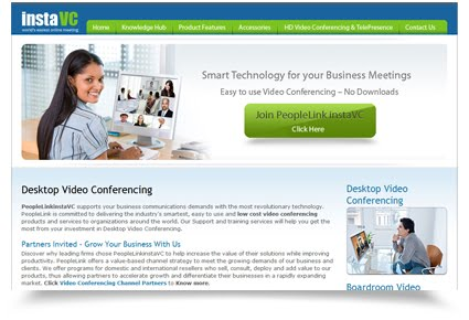 Instavc desktop video conferencing