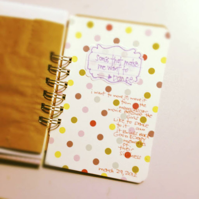 #lists #30lists #30DaysofLists #iloveitall #mini album #mini book