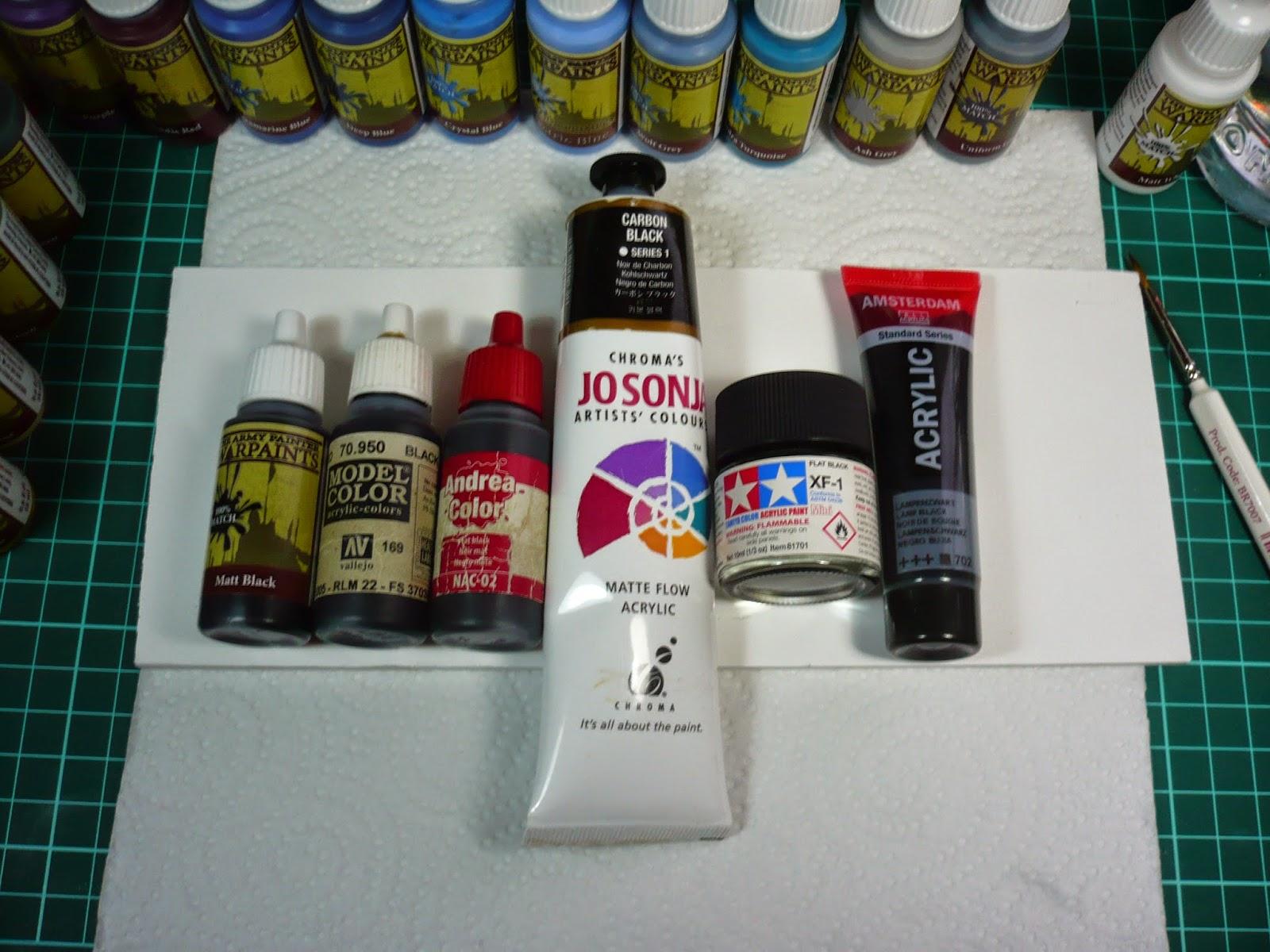 Modeller Paint Brush Reccomendations