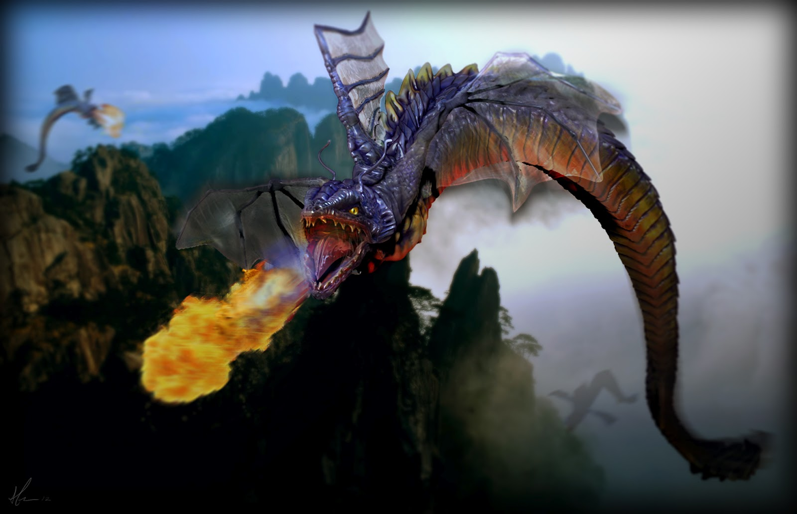 ... dragon this dragon is a deity who was represented as a serpent dragon Dragon