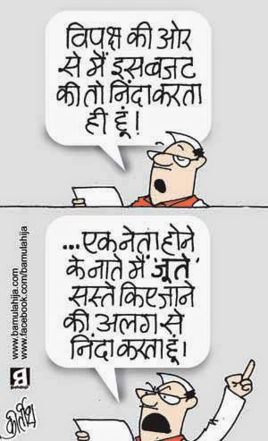 budget cartoon, cartoons on politics, indian political cartoon