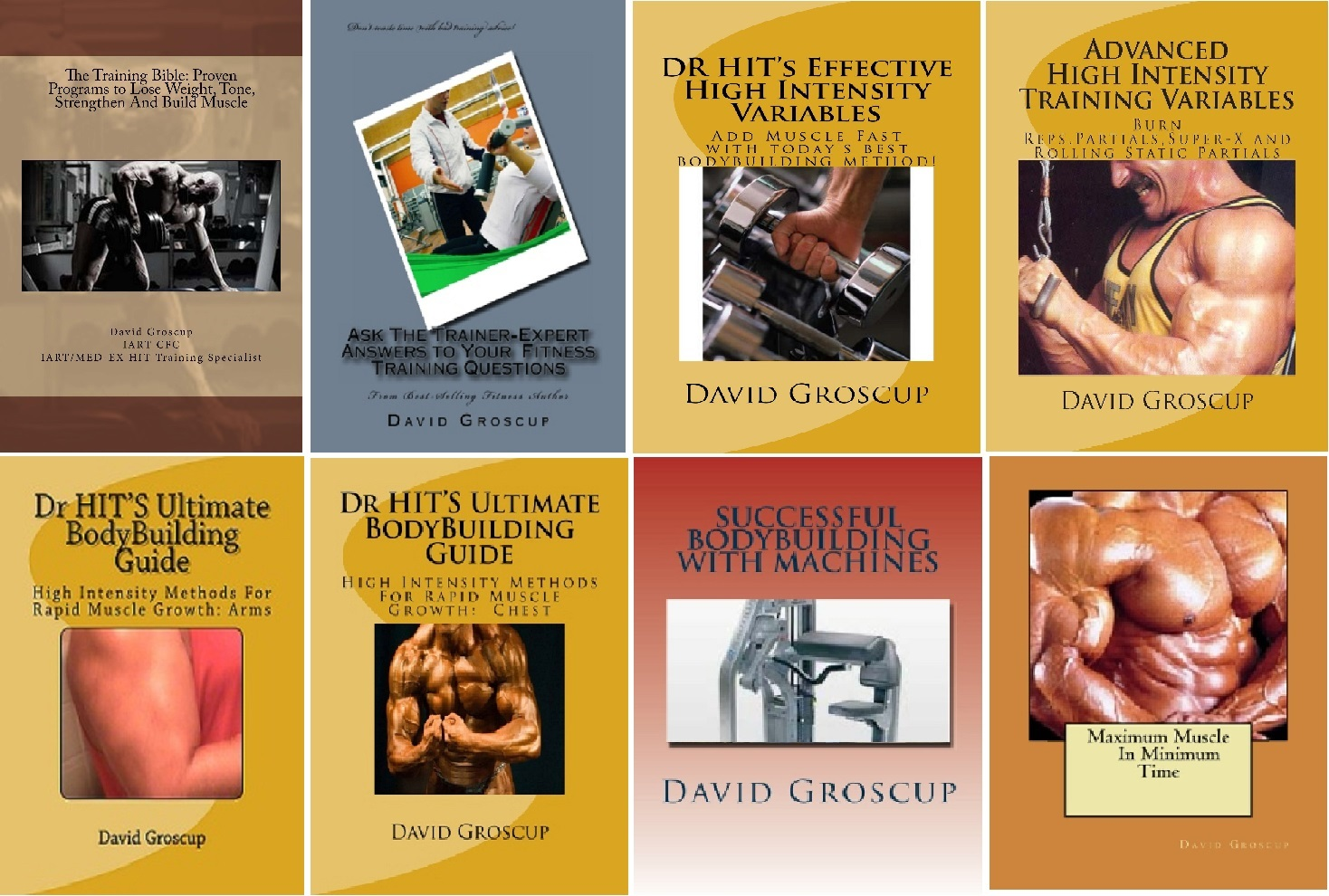 Now Offering My Eight eBook Volume On HIT and Volume Bodybuilding Training