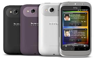 HTC Wildfire S ominaisuudet