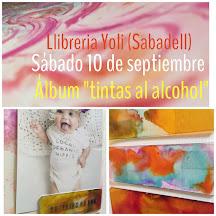 Librería Yoli:                               Album técnicas con tintas al alcohol