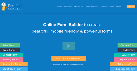 FormGet Review - An Ultimate Solution for HTML Contact Forms