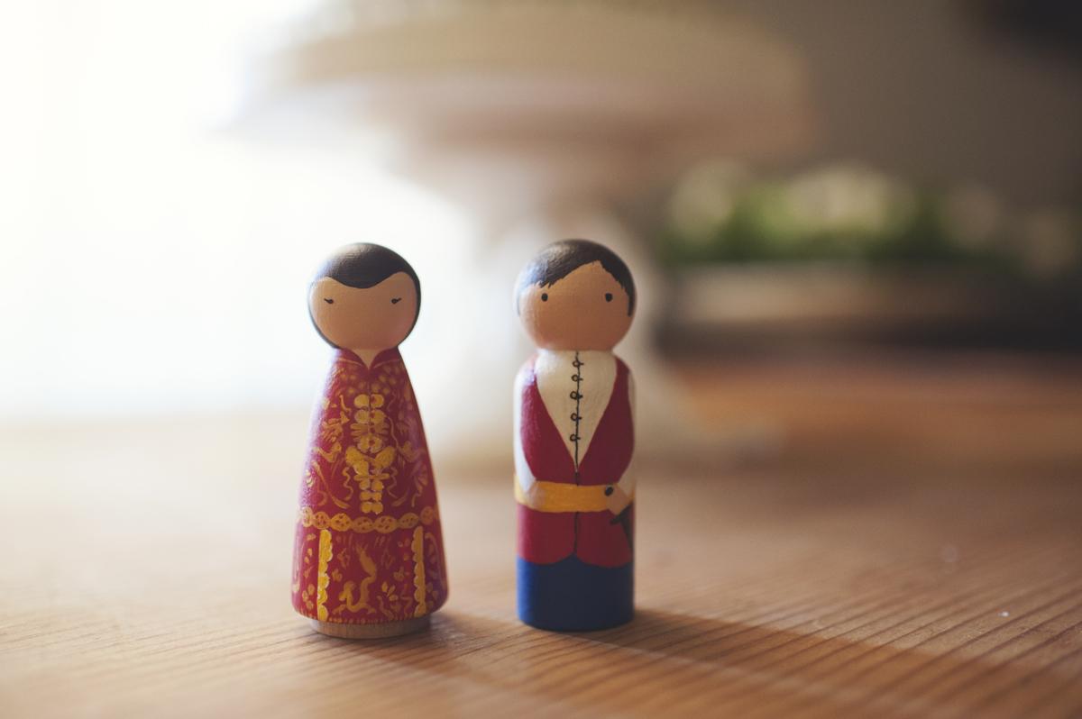 Lucky peak wedding