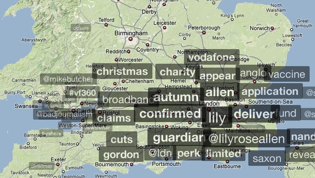 Trendsmap Reveals Twitter Trends at a Local and Global Level ...