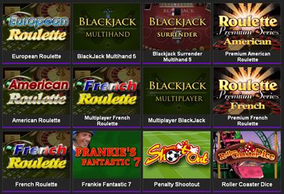 Juegos en NetBet Games