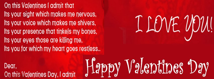 Quotes With Valentine Wish Facebook Profile Timeline Cover