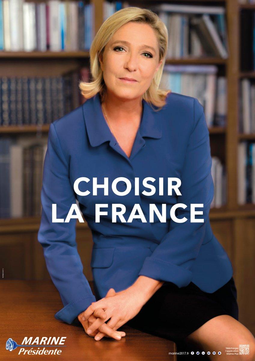 ✓ Marine Le Pen Présidente – Choisir la France