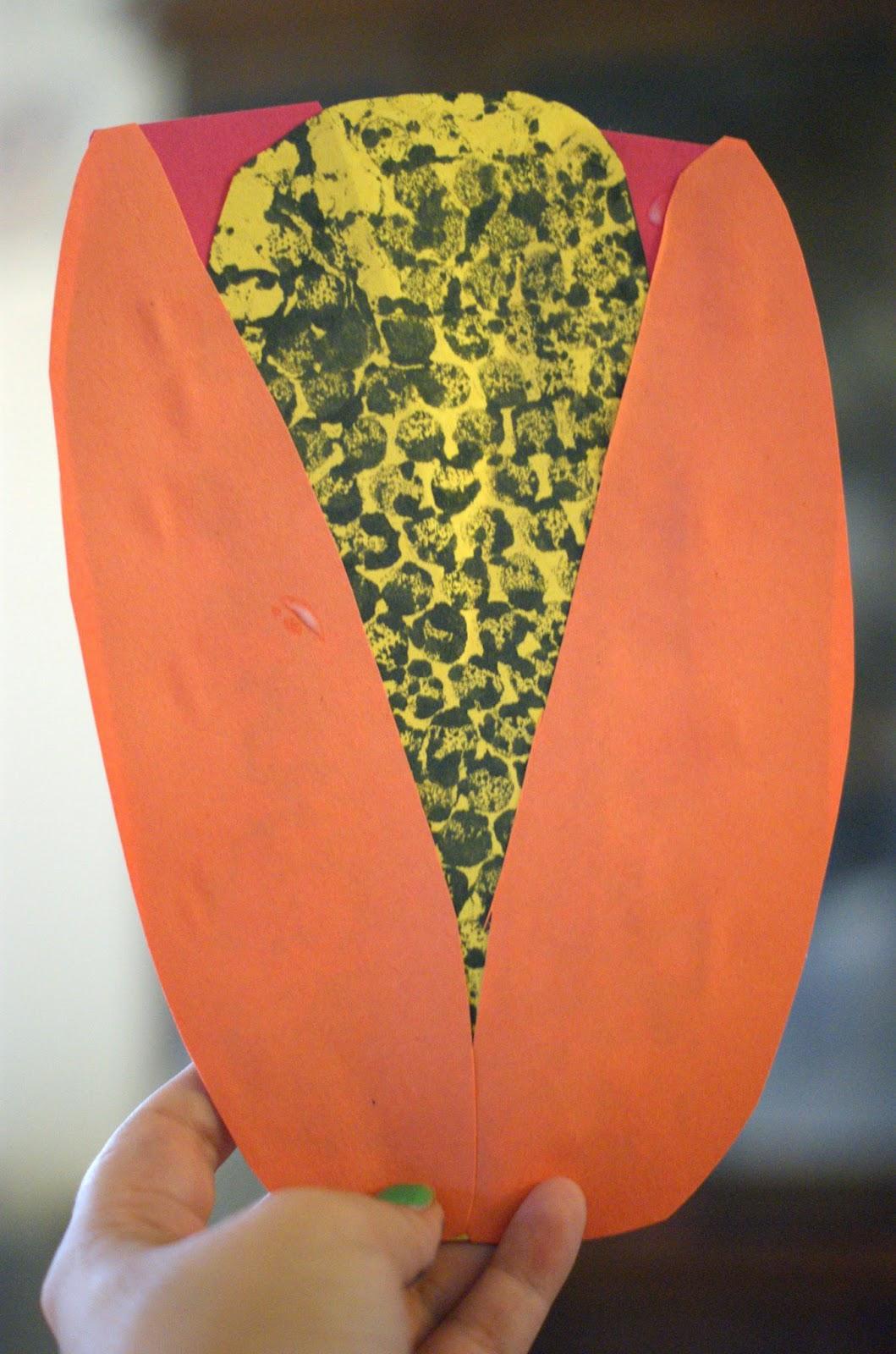 Thanksgiving Corn Craft