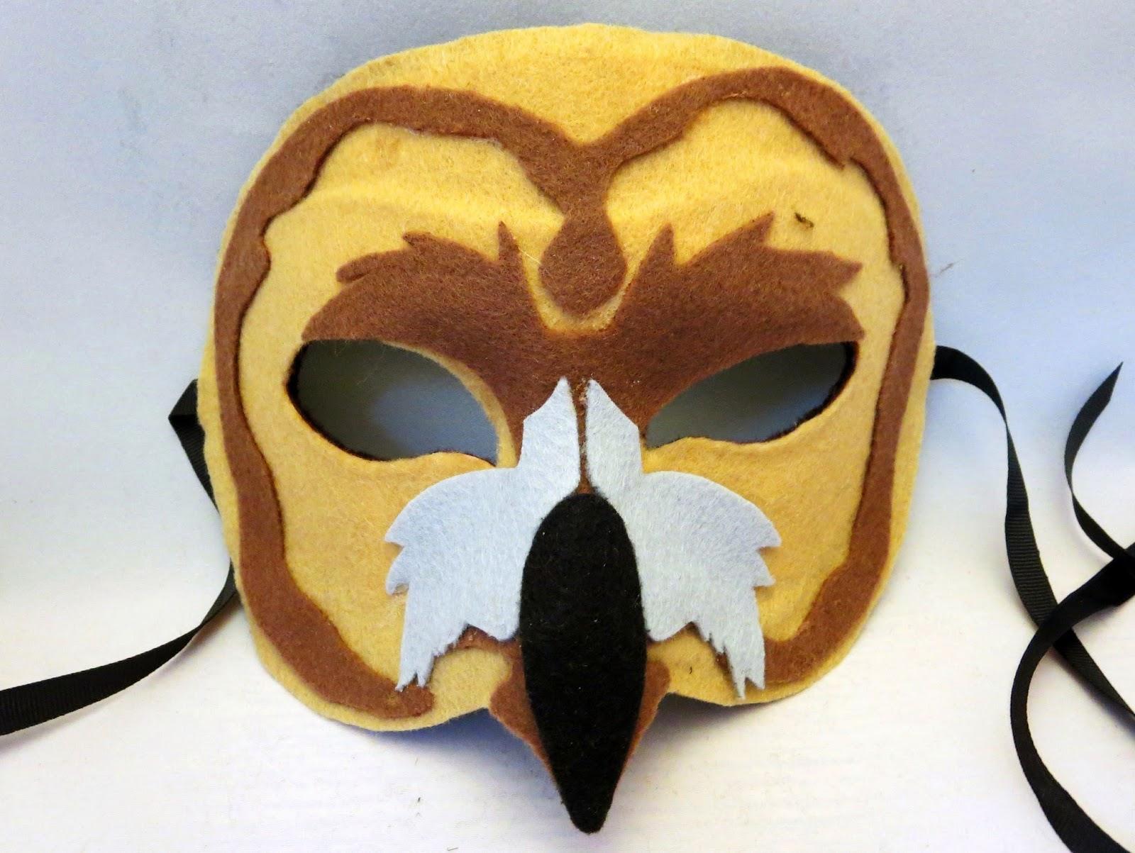 DIY Felt Owl Mask