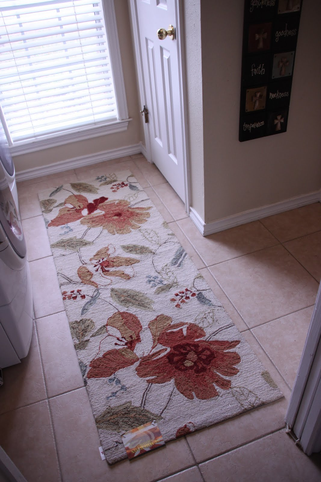 That Village House: Laundry Room Rug