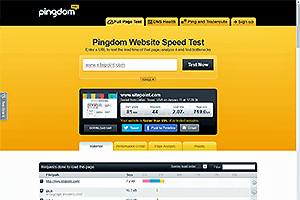 Pingdom site banner logo