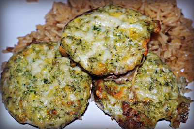 Blue Cheese Stuffed Portobello Mushrooms
