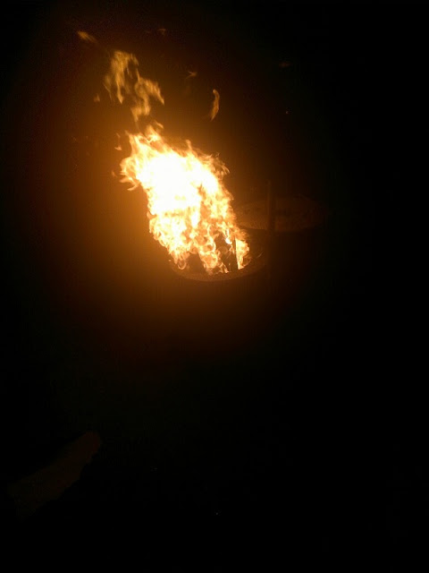 Wood fire part 2