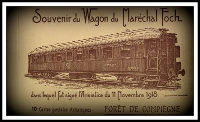 vagon armisticio vagon 2419D rendición alemana vagón mariscal fochvagon 2419D rendicion alemana rendicion francesa