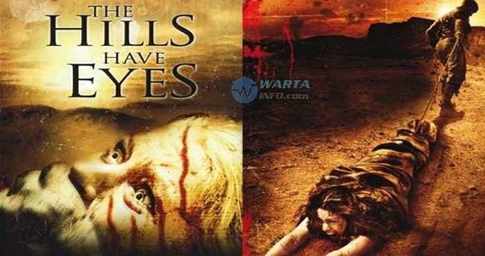 foto gambar poster The Hills Have Eyes film horor barat dari cerita kisah nyata mengerikan