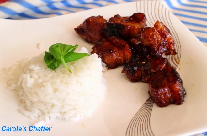 BBQ Pork Belly by Carole's Chatter