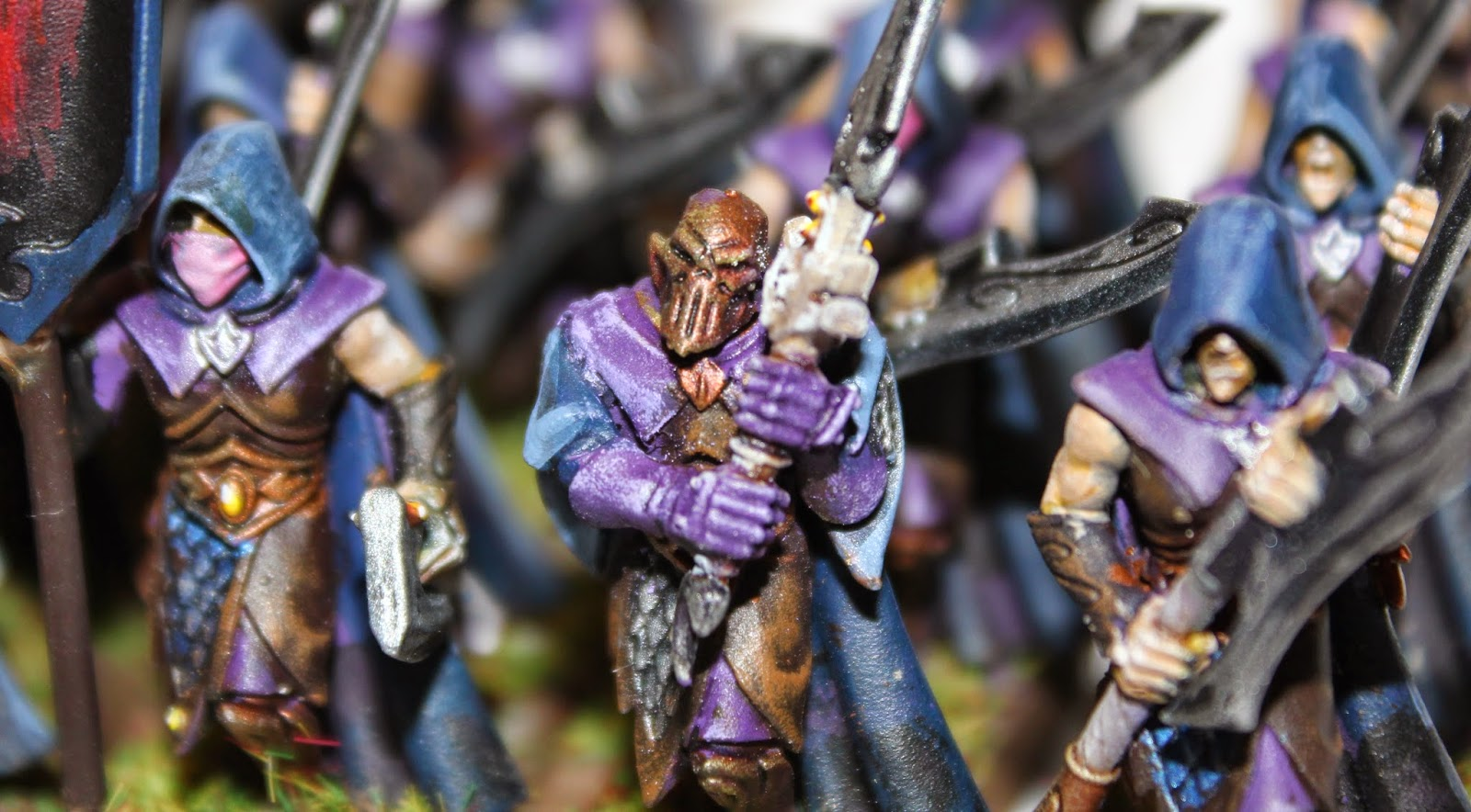 Painted Dark Elves