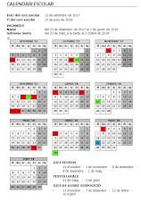 Calendari escolar 17/18