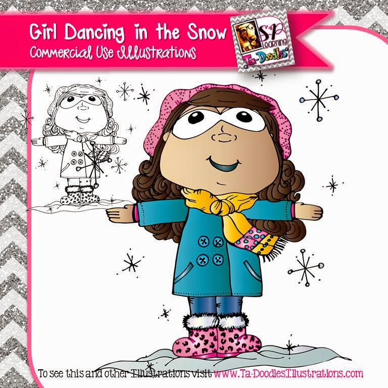 http://www.teacherspayteachers.com/Product/Girl-Dancing-in-the-Snow-FREEBIE-1611365