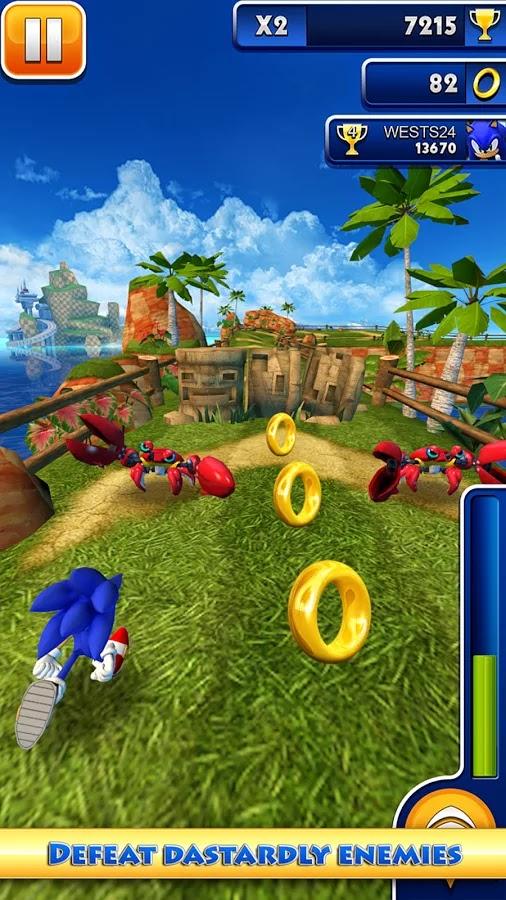 Android Sonic Dash Apk resimi 4