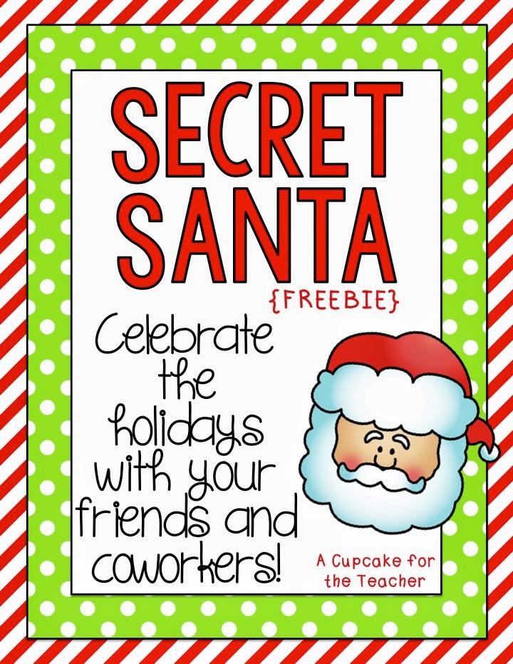 Freebielicious: Secret Santa FUN!
