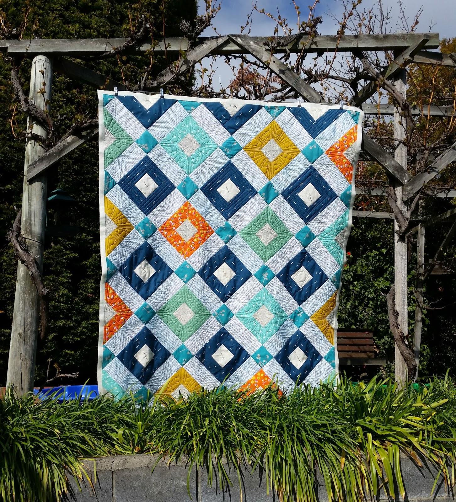 Elven Garden Quilts Welded Quilt Agf Stitched